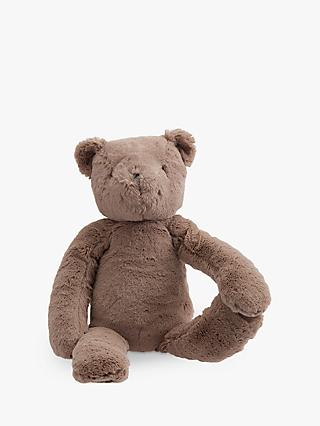 Pottery Barn Kids Plush Teddy Bear Soft Toy, Medium, Brown
