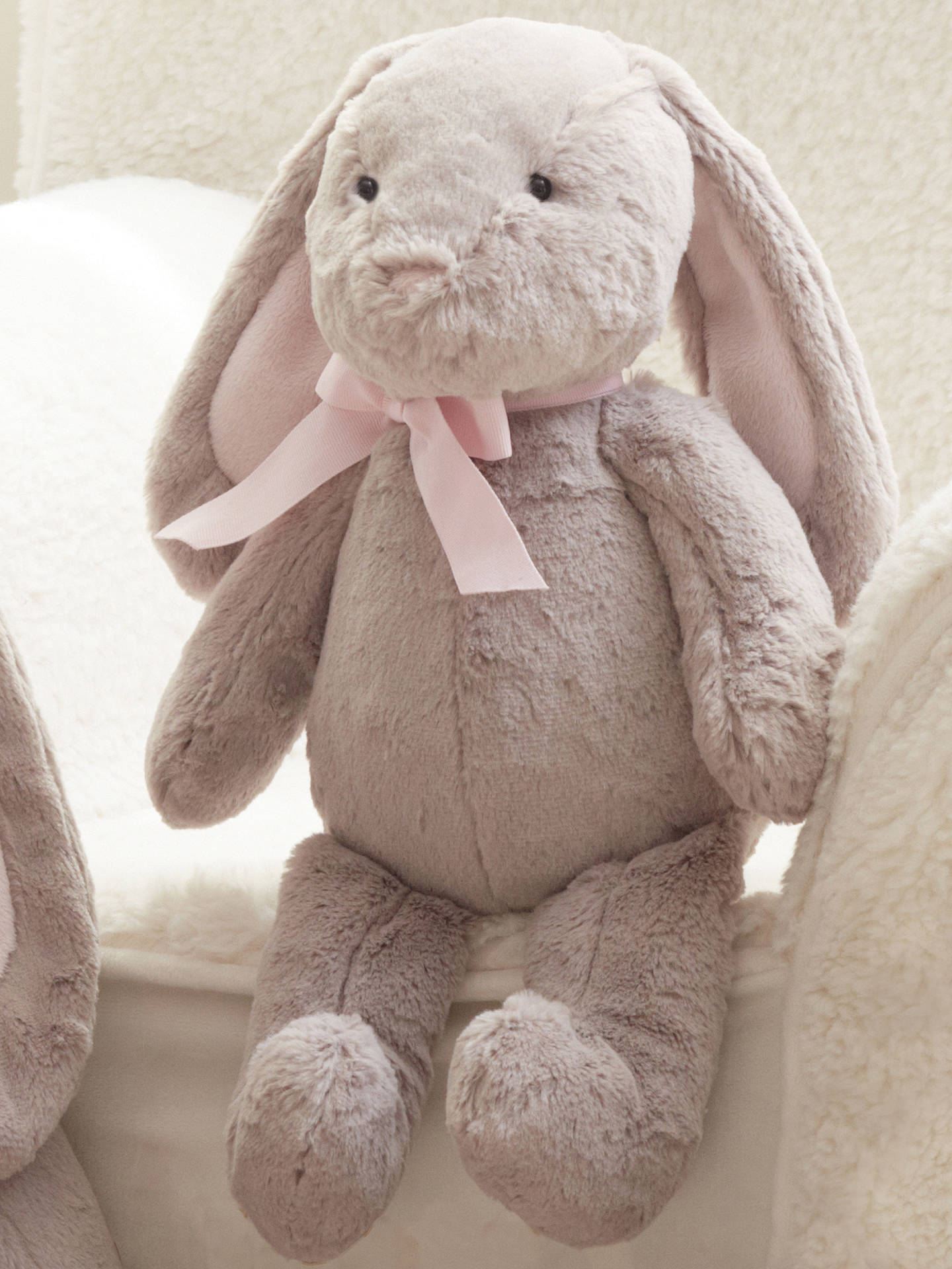 Buy Pottery Barn Kids Plush Bunny Soft Toy, Medium Online at johnlewis.com