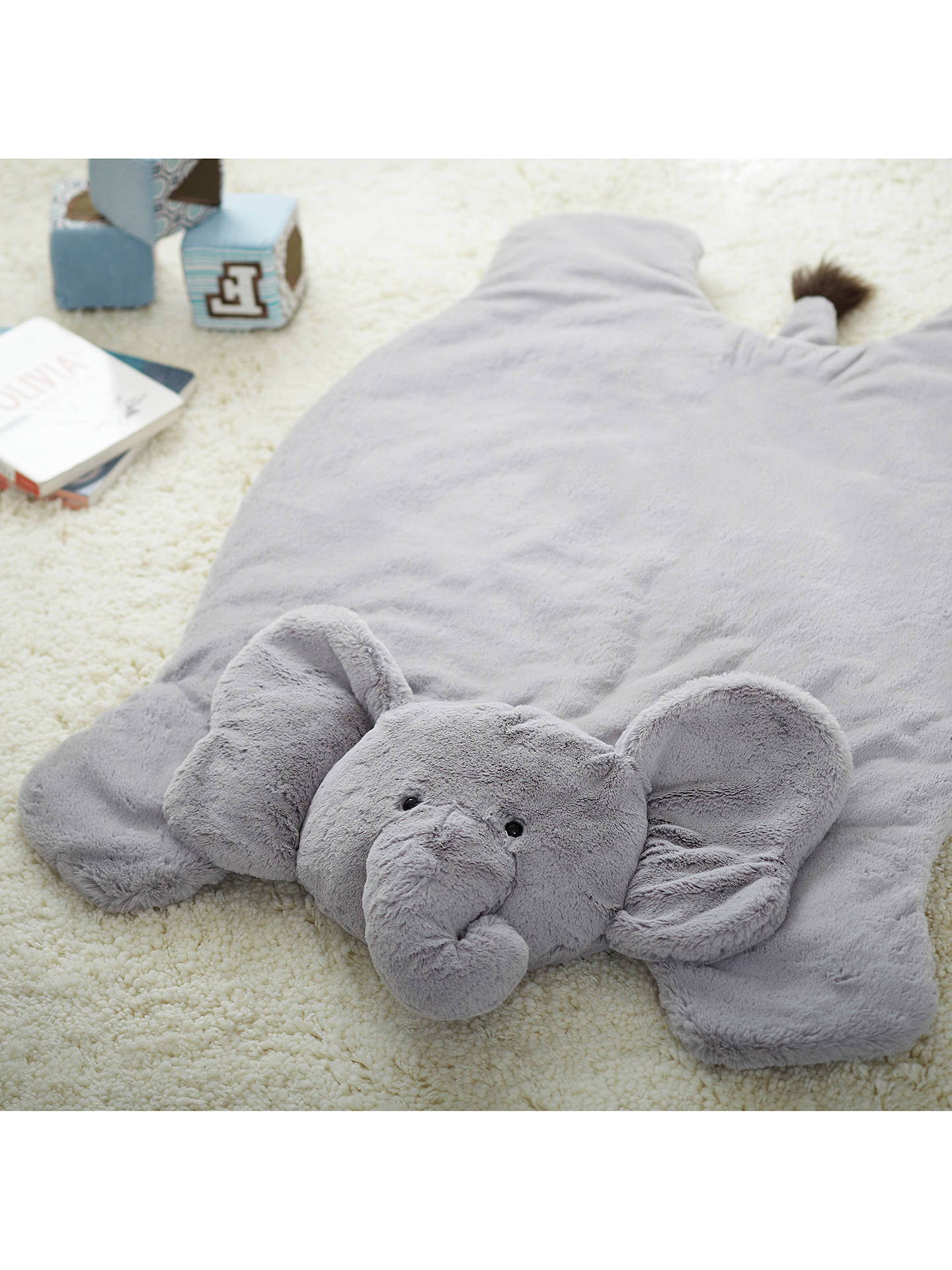 BuyPottery Barn Kids Plush Elephant Activity Play Mat Online at johnlewis.com