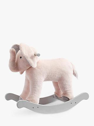 Pottery Barn Kids Monique Lhuillier Plush Rocking Elephant