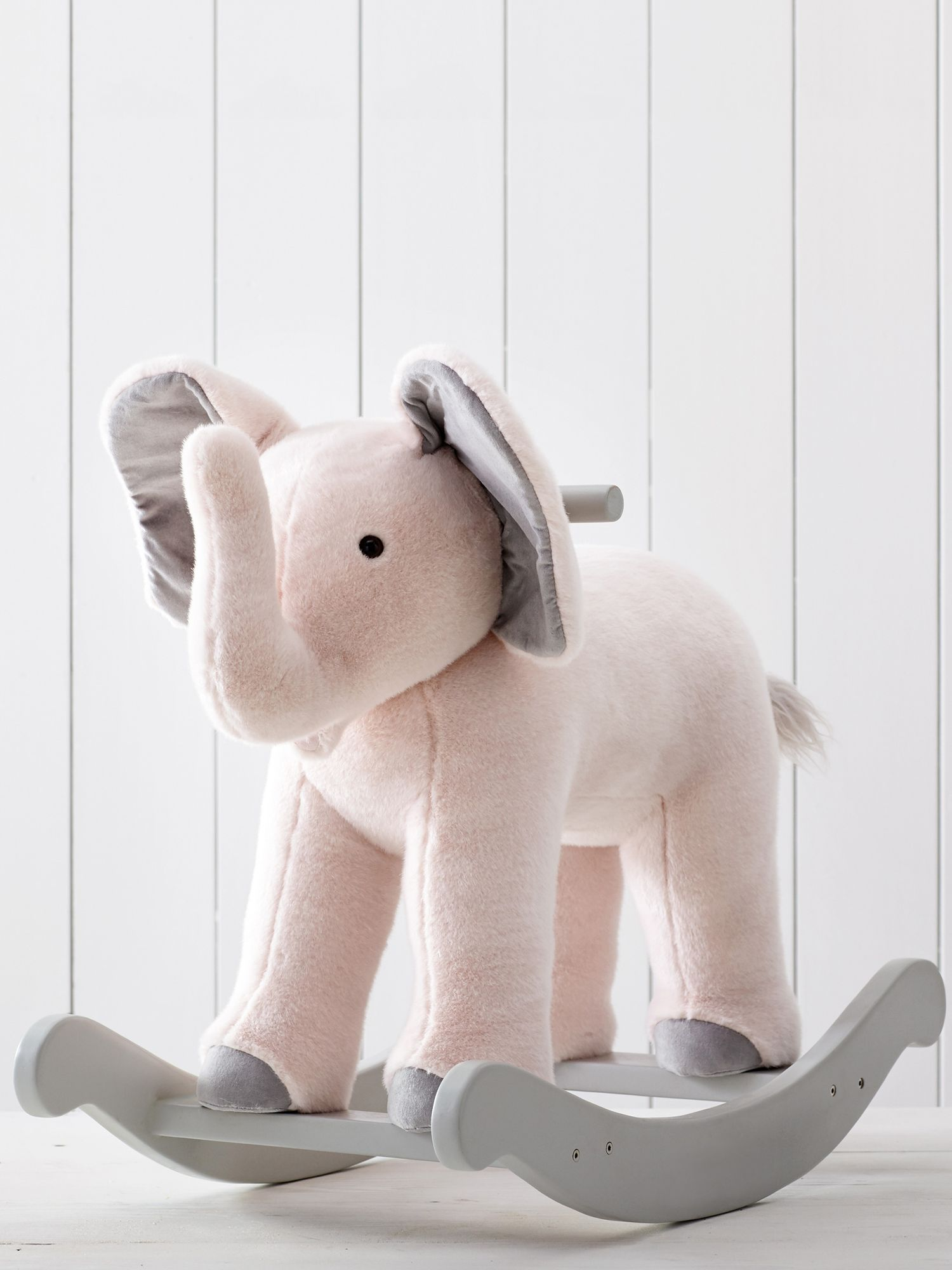 Pottery Barn Kids Monique Lhuillier Plush Rocking Elephant At John Lewis Partners