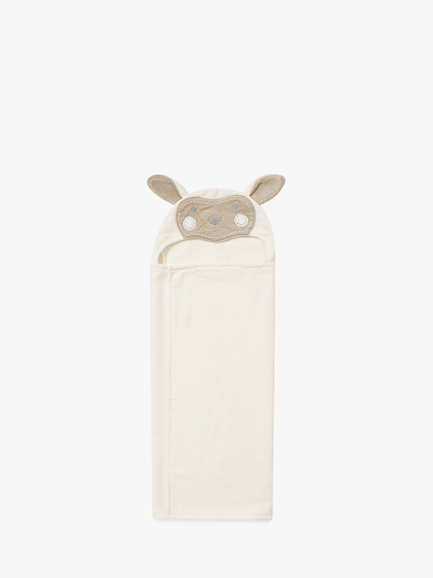 Pottery Barn Kids Lamb Critter Hooded Bath Towel