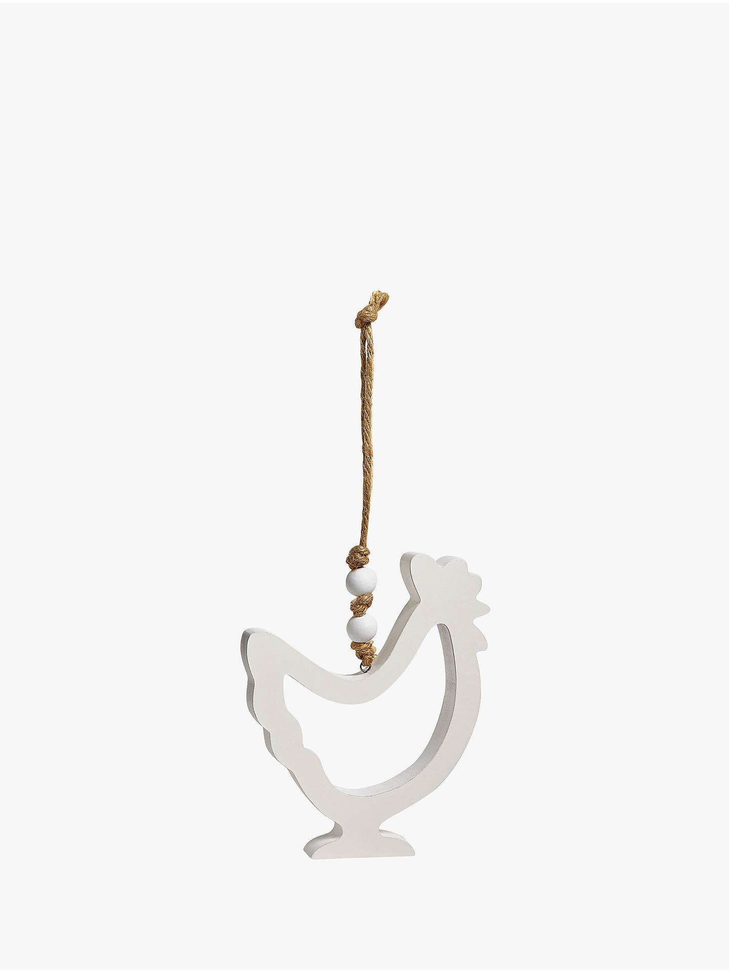 John Lewis & Partners Chicken Hanging Decoration