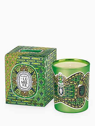 Diptyque Sapin de Lumiere Scented Candle, 70g