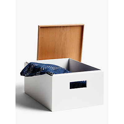 House by John Lewis Lacquered Storage Box with Lid