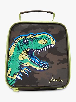 Joules Camouflage Dinosaur Stripe Lunch Bag