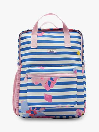 Little Joule Children's Floral Print Easton Square Backpack