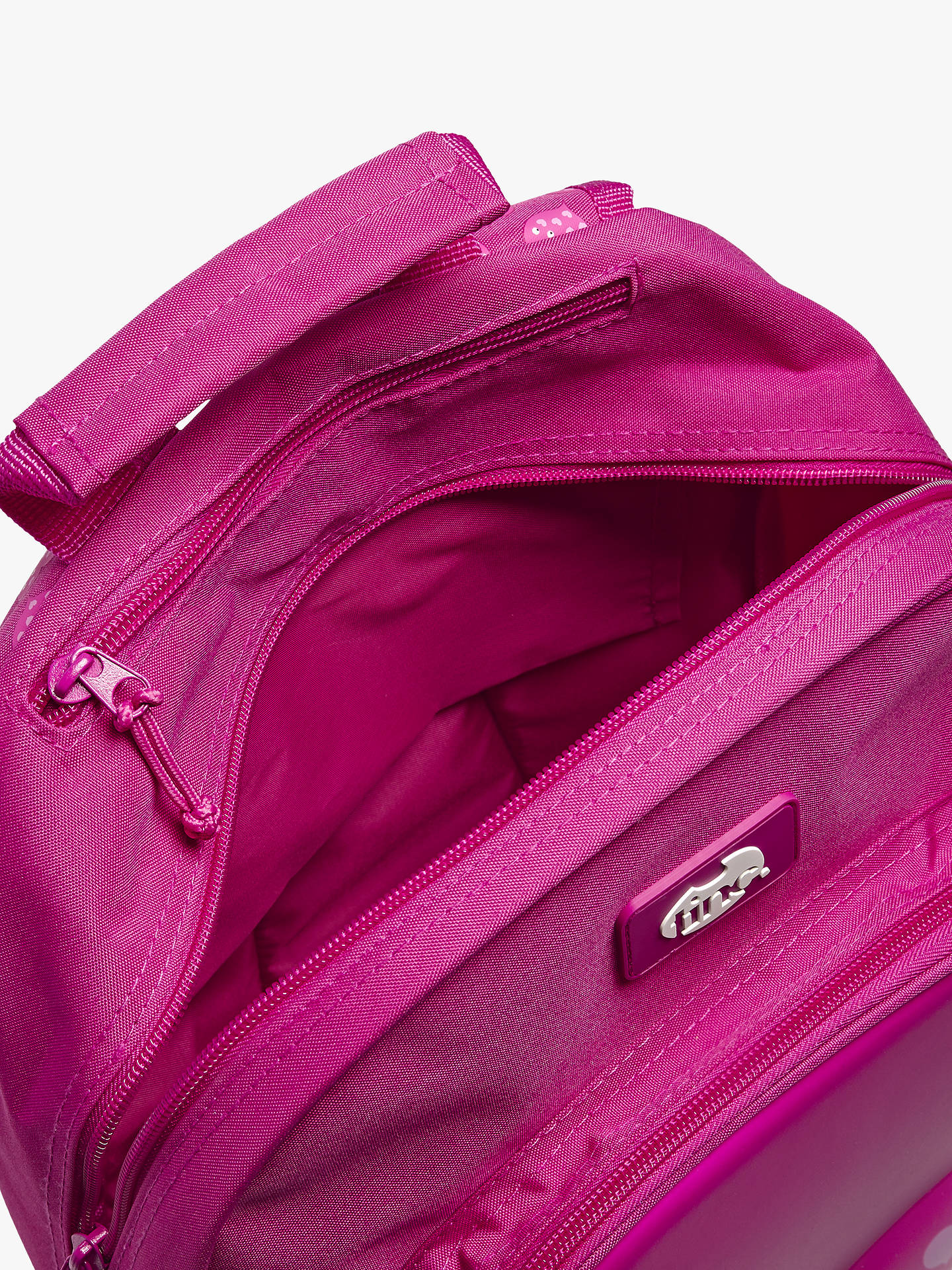 BuyTinc Mallo Embossed Backpack, Pink Online at johnlewis.com