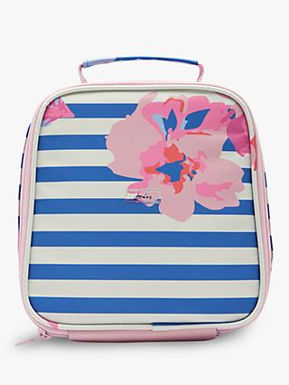 Joules Floral Stripe Lunch Bag