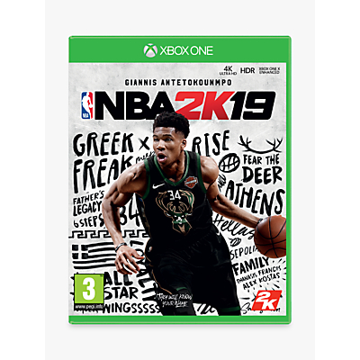 Image of NBA 2K19, Xbox One