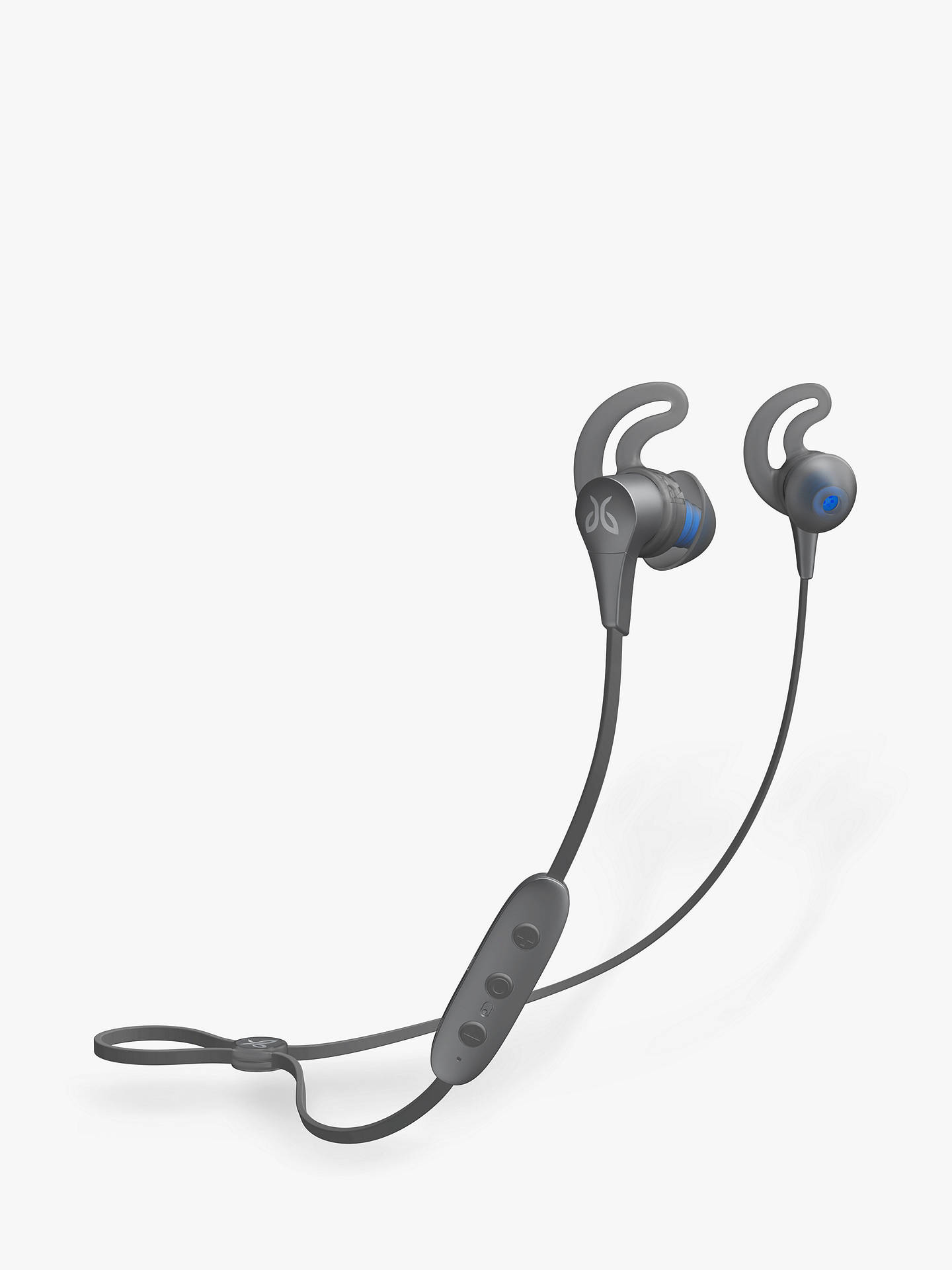 Buy Jaybird X4 Sweat & Weather-Proof Bluetooth Wireless In-Ear Headphones with Mic/Remote, Storm Metallic Glacier Online at johnlewis.com