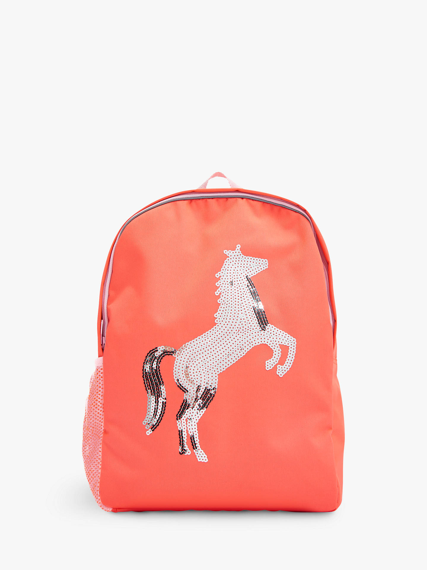 f24c92570cbe Buy Joules Children's Sequin Horse Backpack Online at johnlewis. ...