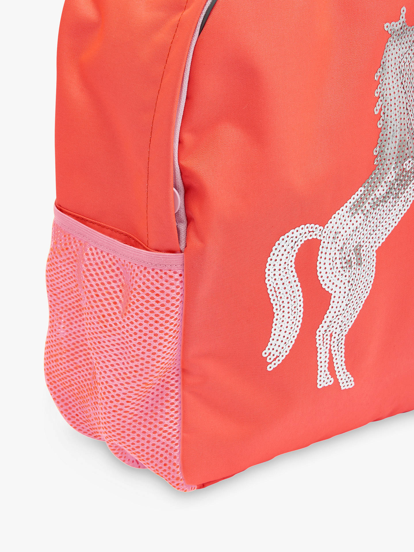 5ff37e26d55f ... Buy Joules Children's Sequin Horse Backpack Online at johnlewis. ...