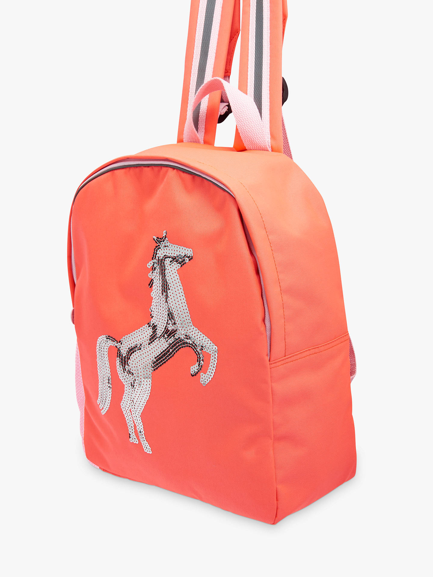 0a19cc1039d7 ... Buy Joules Children's Sequin Horse Backpack Online at johnlewis.com