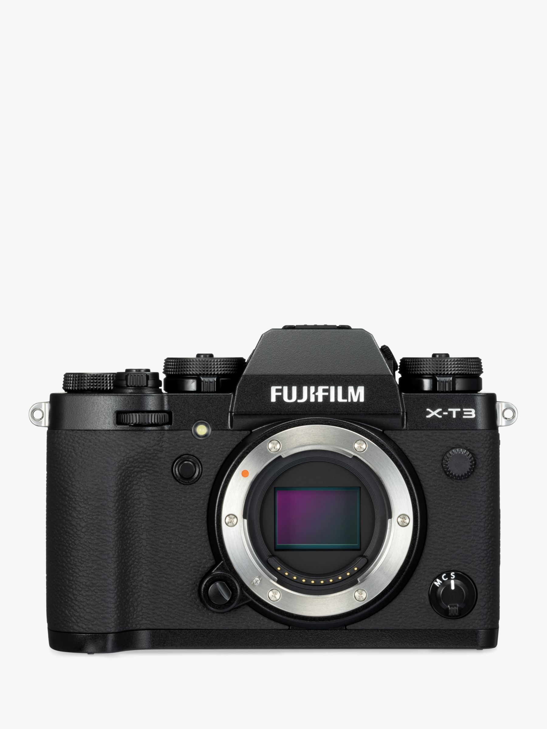 "Fujifilm Fujifilm X-T3 Compact System Camera, 4K Ultra HD, 26.1MP, Wi-Fi, OLED EVF, 3"" LCD Touch Screen, Body Only"