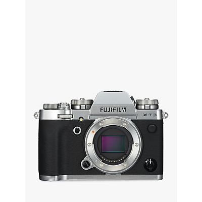 Fujifilm X-T3 Compact System Camera, 4K Ultra HD, 26.1MP, Wi-Fi, OLED EVF, 3� LCD Touch Screen, Body Only