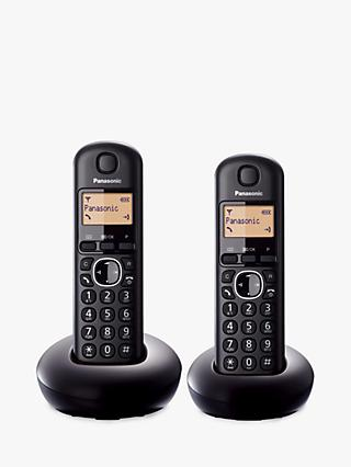Panasonic KX TGB212EB Digital Cordless Telephone, Twin DECT
