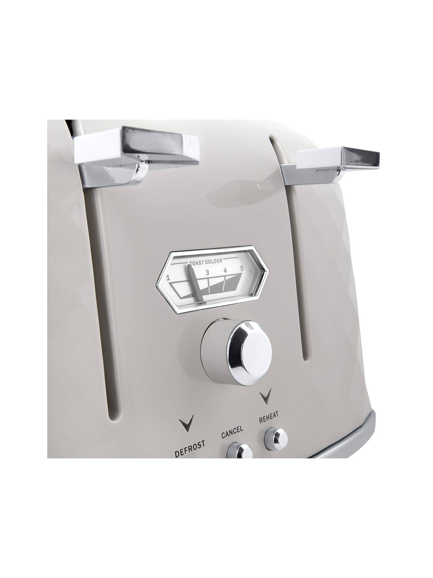 Buy De'Longhi Simbolo 4-Slice Toaster, White Online at johnlewis.com