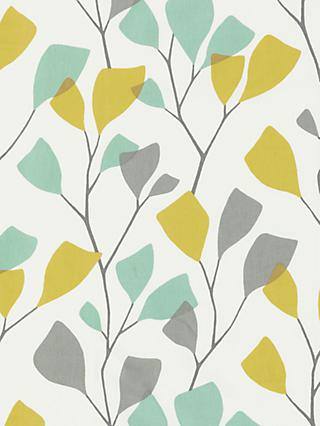 John Lewis & Partners Ines PVC Tablecloth Fabric, Citrine