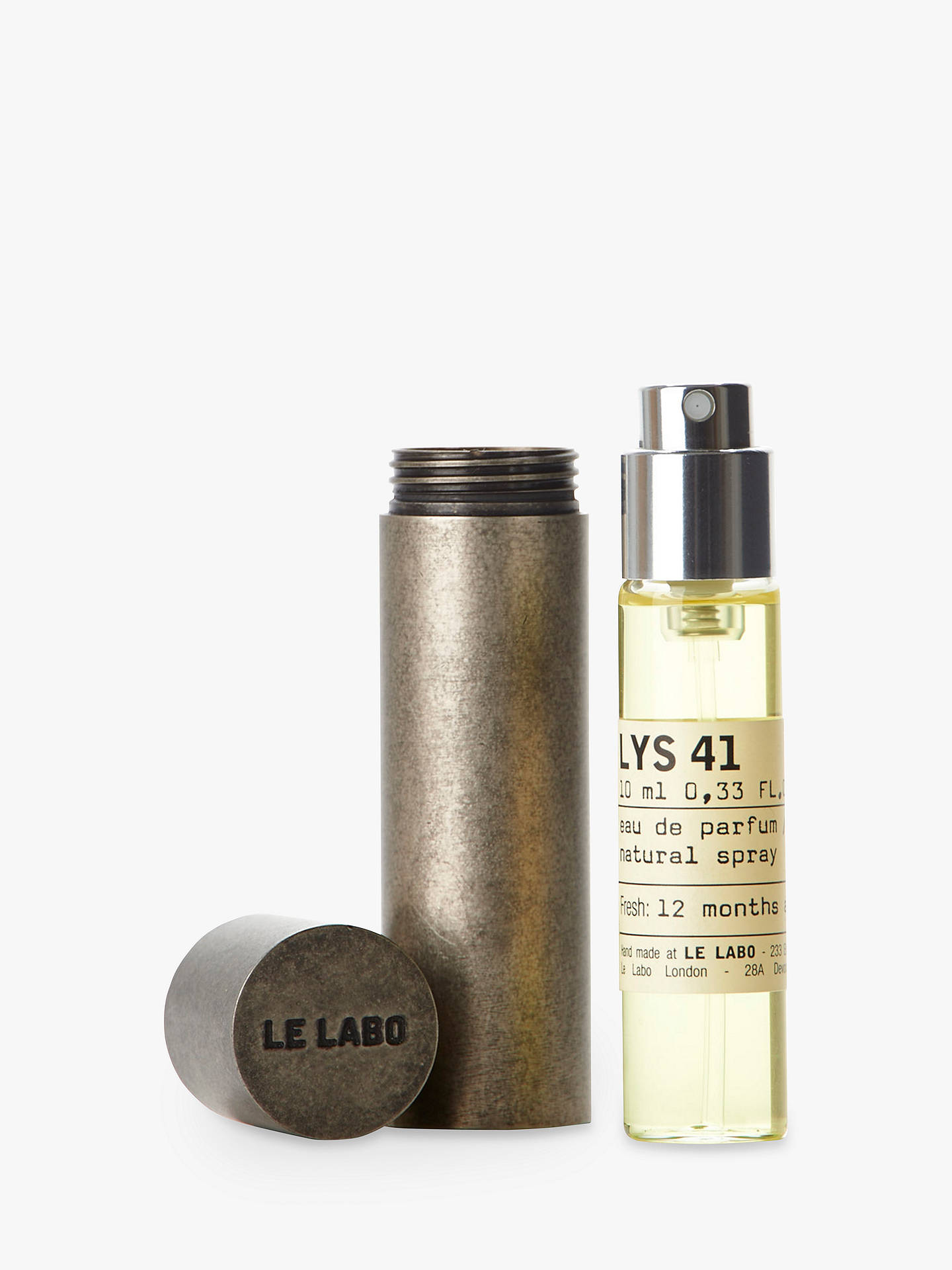 Buy Le Labo Lys 41 Eau de Parfum Travel Tube, 10ml Online at johnlewis.com