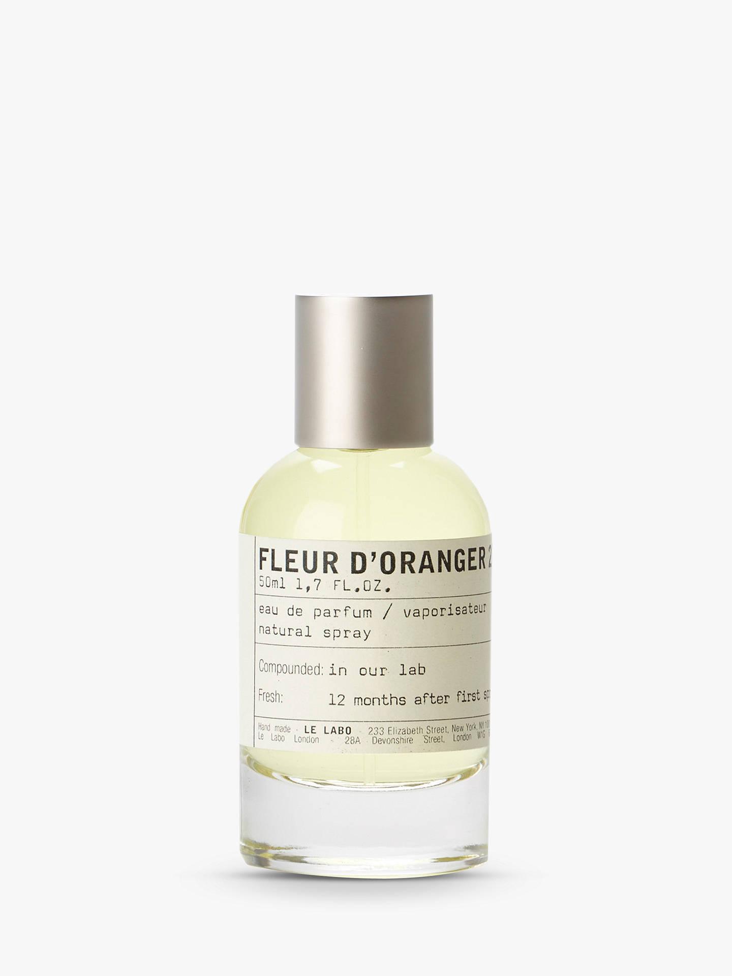 Le Labo Fleur D Oranger 27 Eau De Parfum At John Lewis Partners