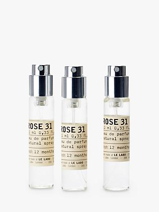 Le Labo Rose 31 Eau de Parfum Travel Refill, 3 x 10ml