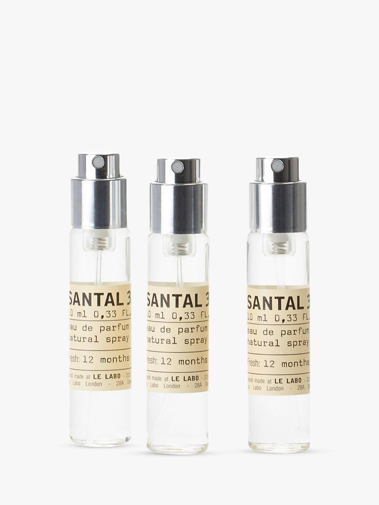 Le Labo Santal 33 Eau De Parfum Travel Refill 3 X 10ml At John Original Adidas Get Ready Buyle Online Johnlewis