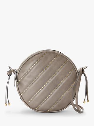 9a9eea8ca65e8 AND OR Ella Circle Leather Cross Body Bag