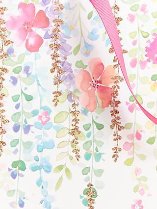74865dd6e John Lewis   Partners Spring Floral Gift Bag