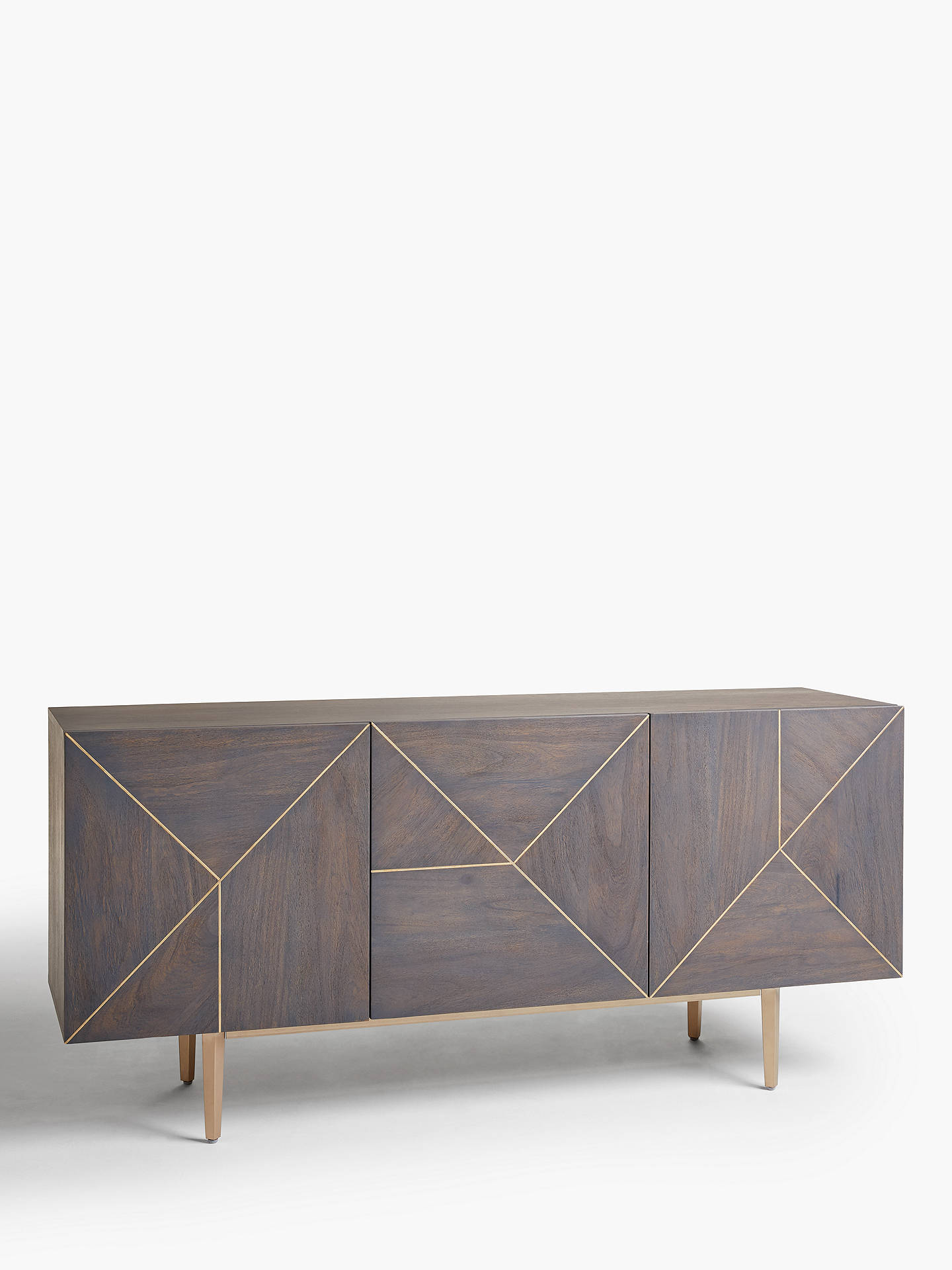 Buy John Lewis & Partners + Swoon Mendel Sideboard, Grey Online at johnlewis.com