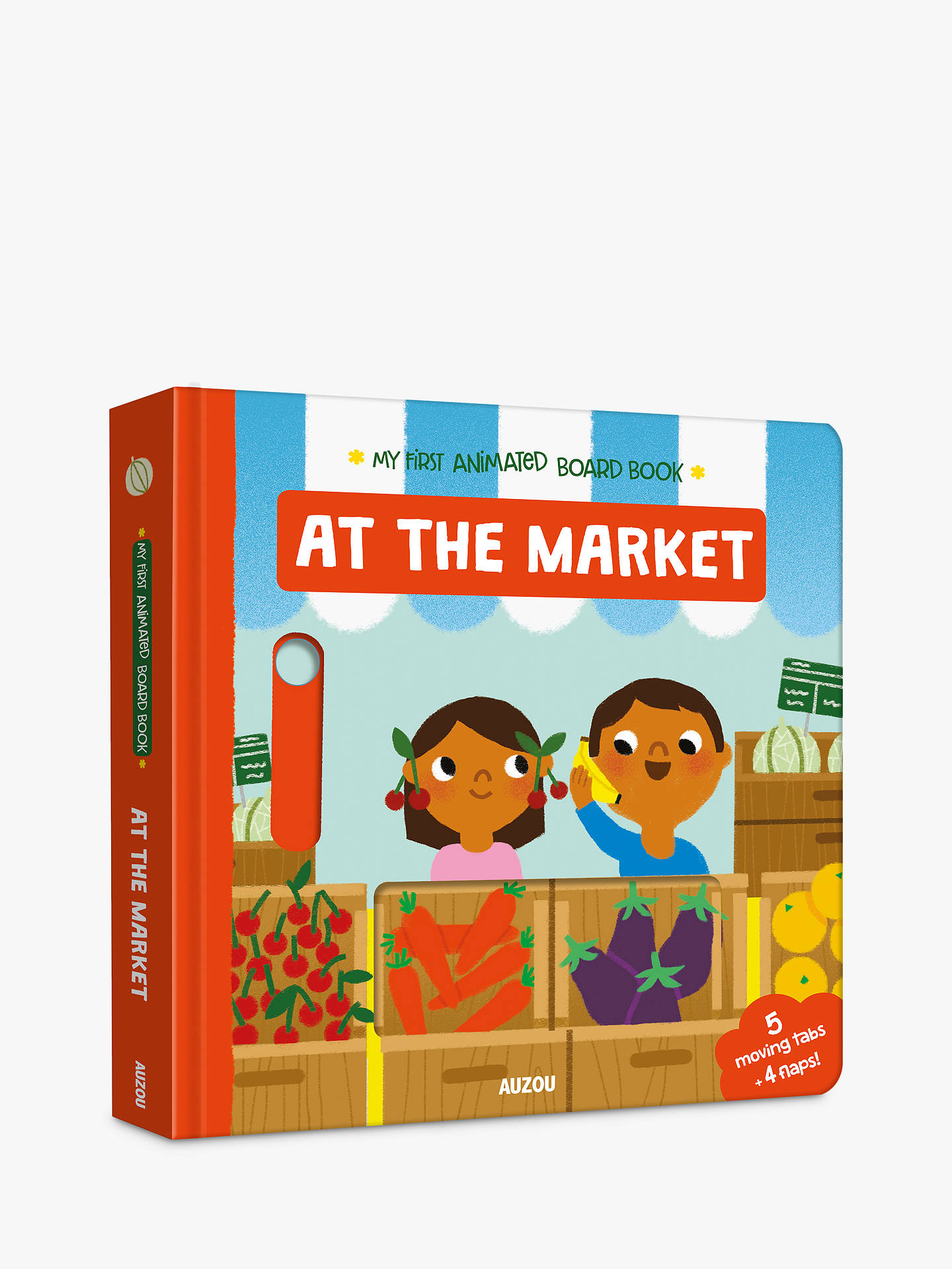 Buy At The Market My First Animated Board Children's Book Online at johnlewis.com