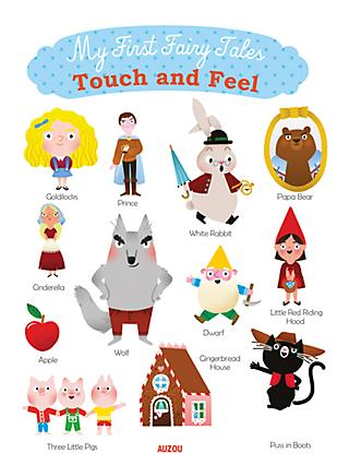 My First Fairy Tales Touch and Feel Children's Book