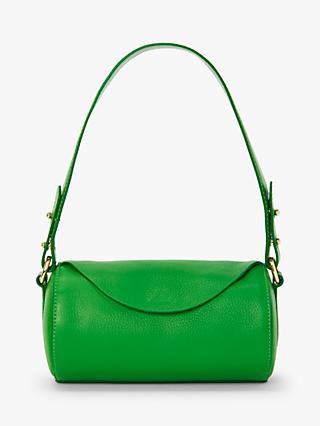 27dfab3ab34 John Lewis   Partners Eliza Leather Mini Barrel Shoulder Bag