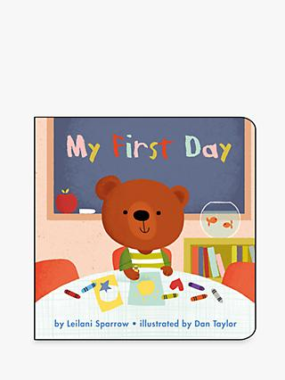 My First Day and My New Shoes Children's Book, 2 Pack