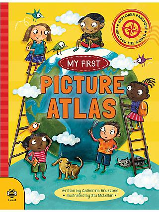 My First Picture Atlas Children's Book