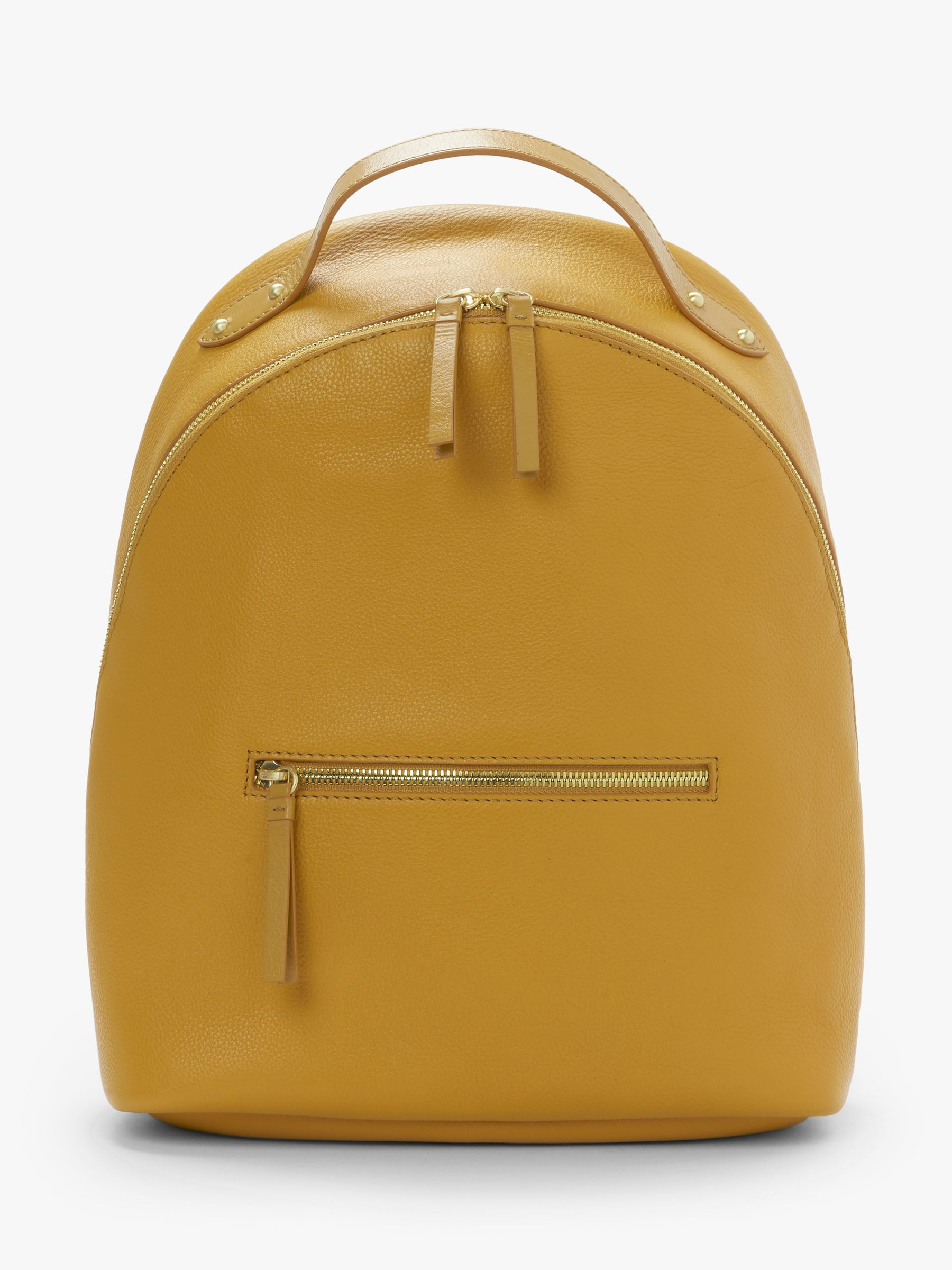 07f5288939 John Lewis   Partners Harper Leather Backpack