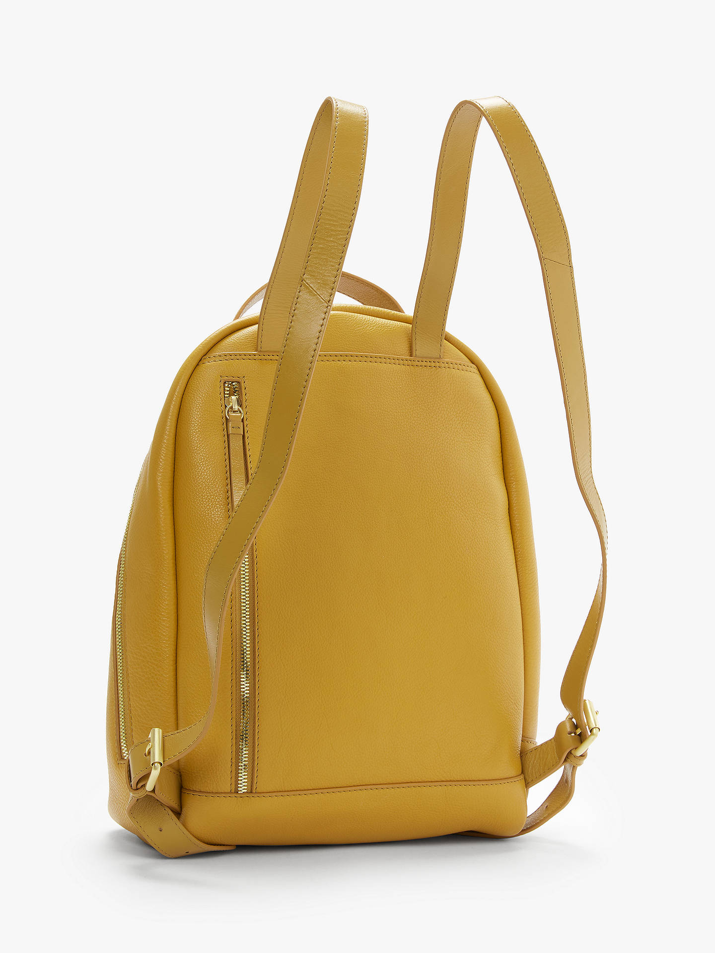 fcfc3461ab ... Buy John Lewis   Partners Harper Leather Backpack