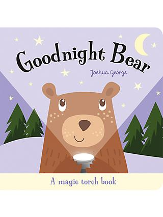 Goodnight Bear a Magic Torch Book Children's Book
