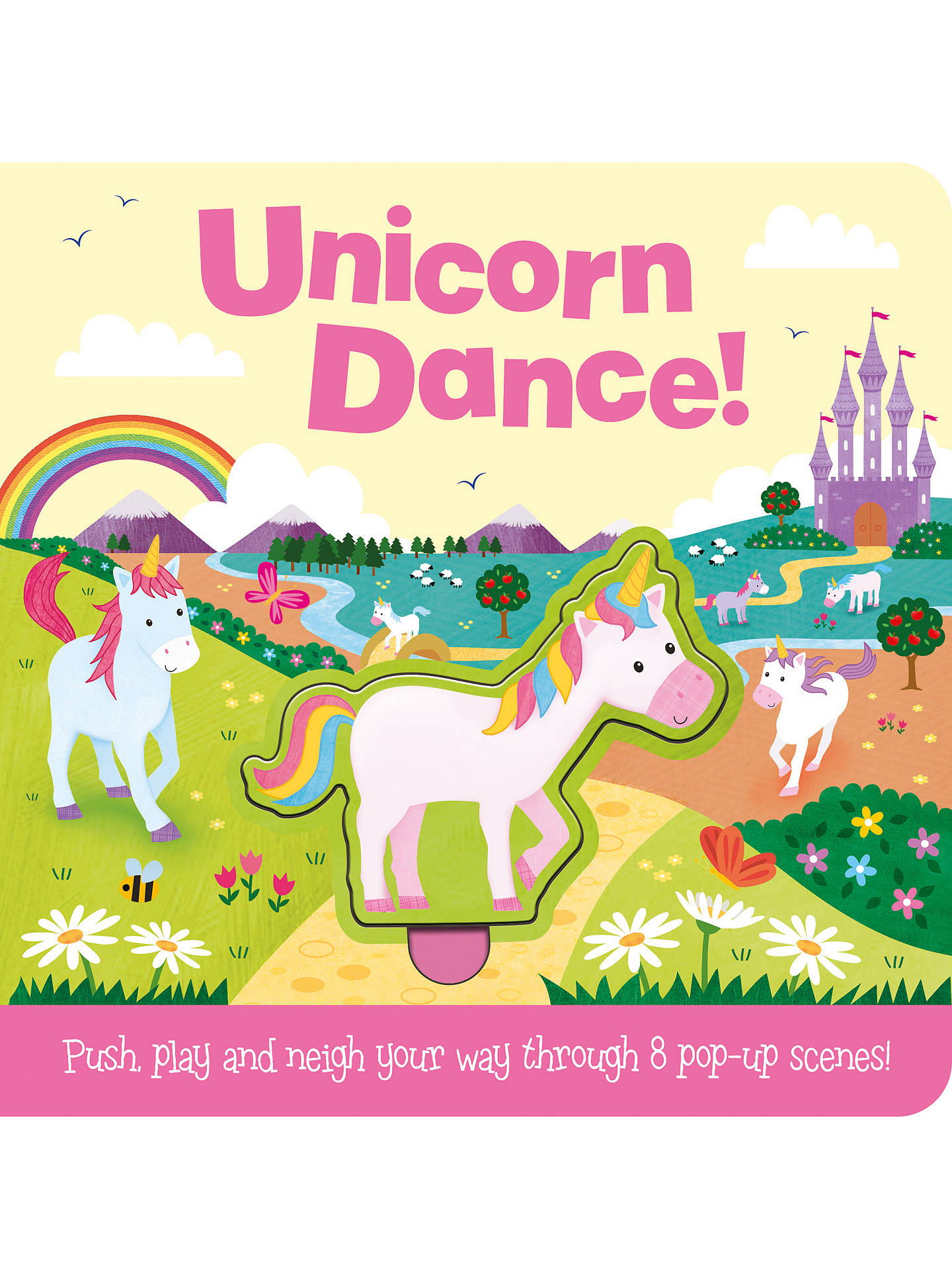 BuyPush & Play Unicorns Children's Board Book Online at johnlewis.com