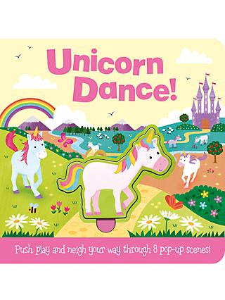 Push & Play Unicorns Children's Board Book