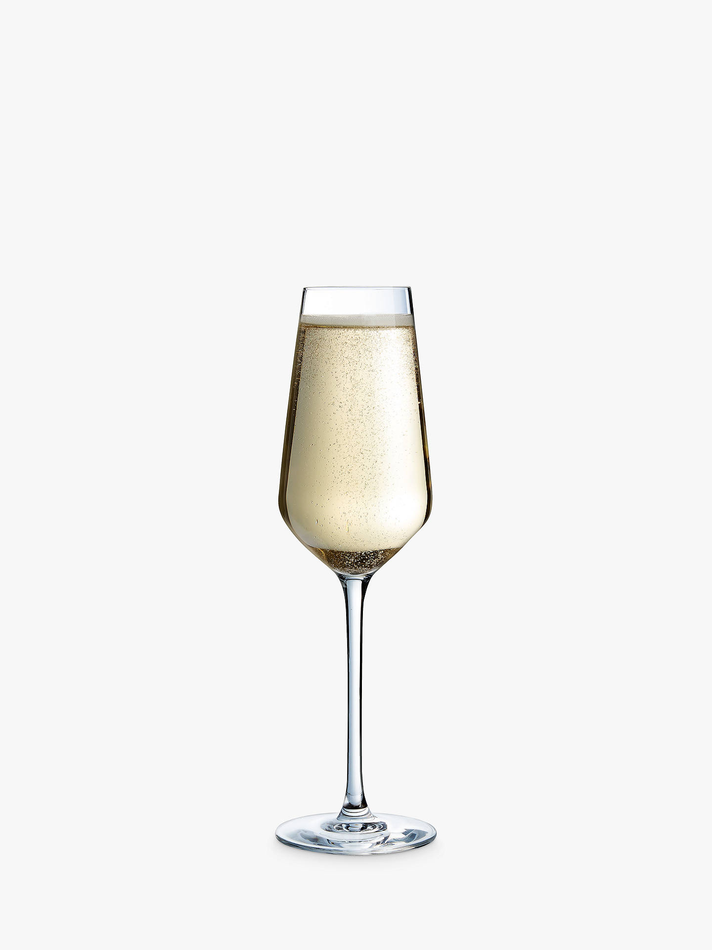 Buy Eclat Cristal d'Arques Paris Ultime Champagne Flutes, Set of 6, 210ml, Clear Online at johnlewis.com