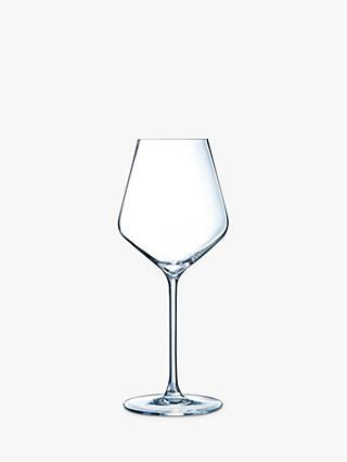 Eclat Cristal d'Arques Paris Ultime White Wine Glasses, Set of 6, 470ml, Clear
