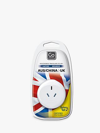 Go Travel Australia to UK Plug Adaptor