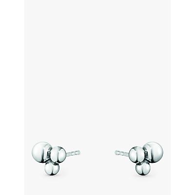 Georg Jensen Sterling Silver Moonlight Grapes Stud Earrings, Silver