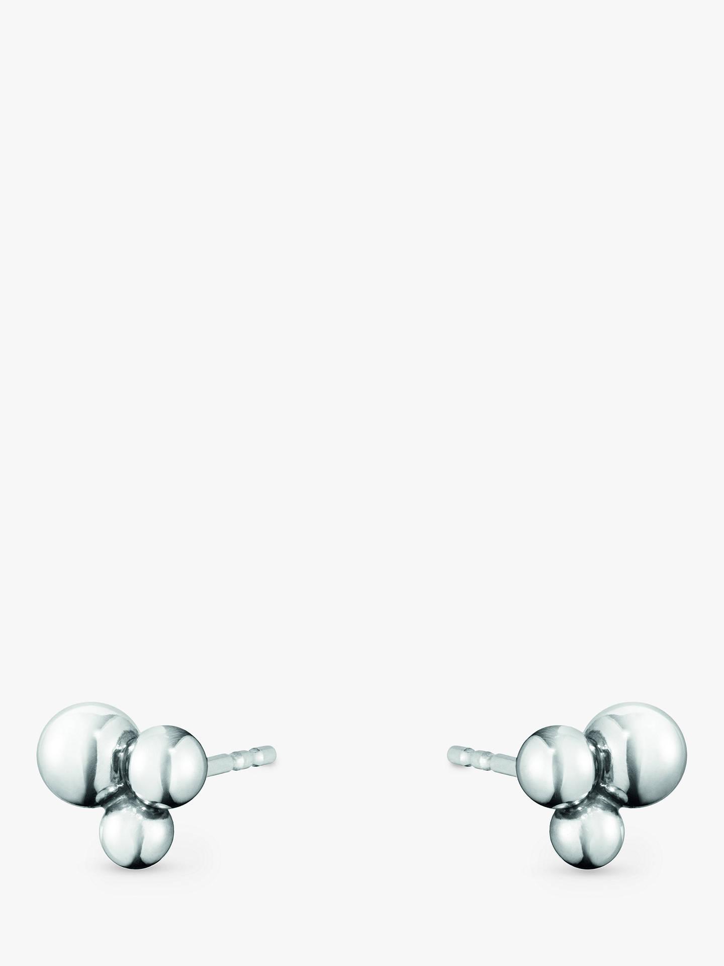 945e8a40d Buy Georg Jensen Sterling Silver Moonlight Grapes Stud Earrings, Silver  Online at johnlewis.com