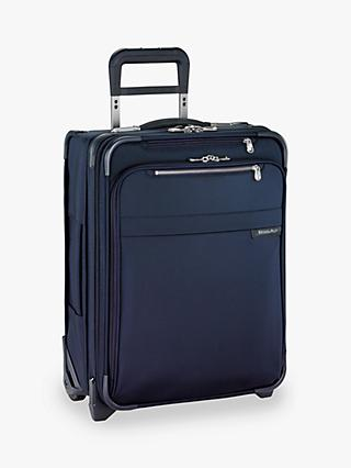 Briggs & Riley Baseline International Carry-On Expandable Wide Body 2-Wheel Upright Cabin Suitcase