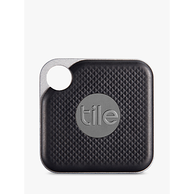 Image of Tile Style Pro Series (2018), Bluetooth Phone, Keys, Item Finder, 1 Pack, Black
