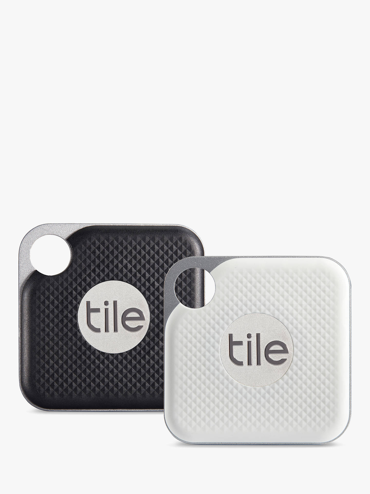 Tile Style Pro Series (2018), Bluetooth Phone, Keys, Item Finder, 2 Pack,  Black and White