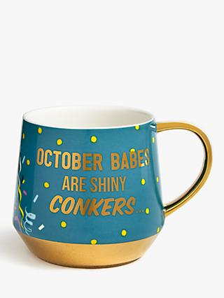 John Lewis & Partners October Mug, 450ml