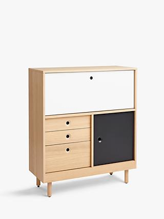 House by John Lewis Cube Bureau, Natural